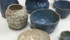 Ein Beispiel: Schalen und Vasen in perlmutt und taubenblau